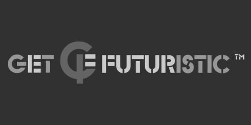 Get FUTURISTIC logo (dark)