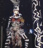 Grace Jones futuristic costume