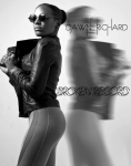 Dawn Richard - A Tell Tale Heart mixtape album cover futuristic