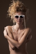 Get Futuristic eyewear shades lookbook featuring Trendsetter and Victoria Bonya (4)