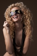 Get Futuristic eyewear shades lookbook featuring Trendsetter and Victoria Bonya (5)