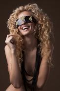 Get Futuristic eyewear shades lookbook featuring Trendsetter and Victoria Bonya (5)