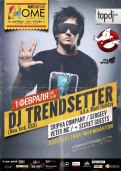 DJ trendsetter party cover poster mark holiday