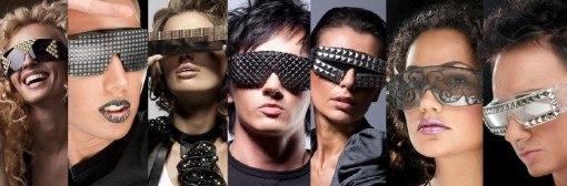 Get Futuristic headline, futuristic shades, futuristic eye-wear,