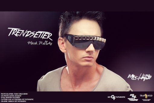 DJ Trendsetter (Mark Holiday) - cover poster 2013 (Get Futuristic 1.1)