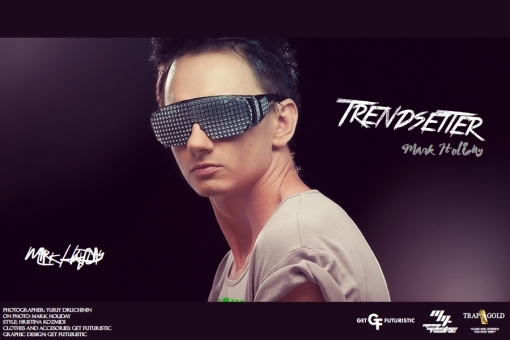 DJ Trendsetter (Mark Holiday) - cover poster 2013 (Get Futuristic 1.2)
