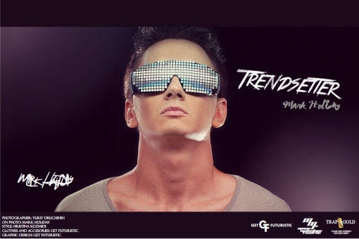 DJ Trendsetter (Mark Holiday) - cover poster 2013 (Get Futuristic 1.3)