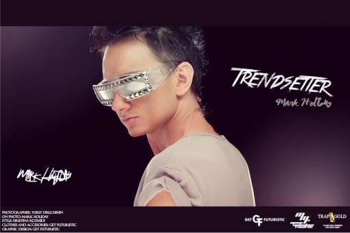 DJ Trendsetter (Mark Holiday) - cover poster 2013 (Get Futuristic 1.4)