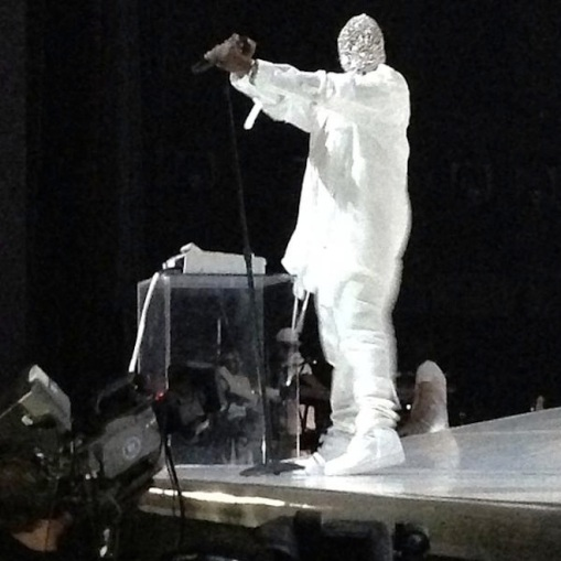 Kanye West - Yeezus tour 2013 collaboration with Maison Martin Margiela. Get Futuristic Yeezy!