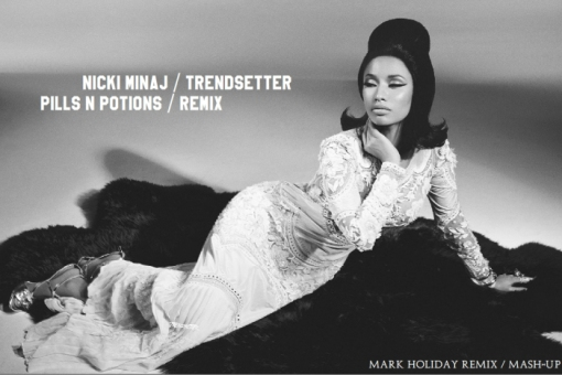 Nicki Minaj Trendsetter - Pills n Potions Mark Holiday 2015 photoshoot
